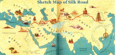 Sketch-Map-of-Silk-Road